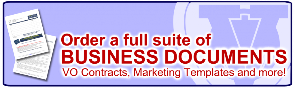 Voiceover Artist Business DOcuments